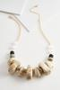 Knots And Ovals Ceramic Necklace