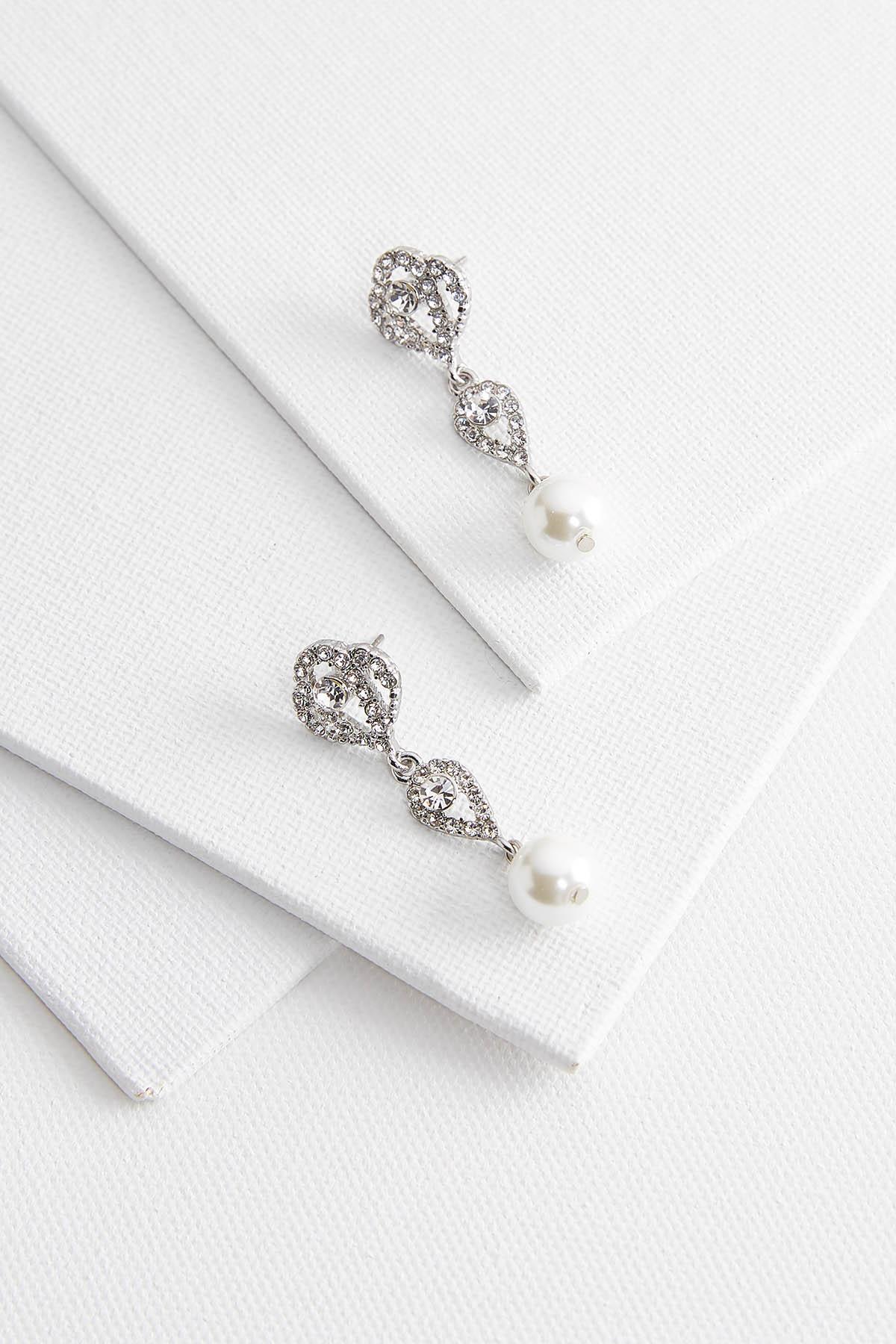Dangling Deco Pearl Earrings