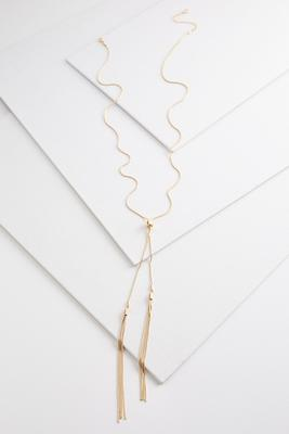 dainty chain y-necklace