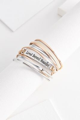 loved beyond measure bracelet