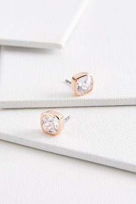 bezel cushion studs