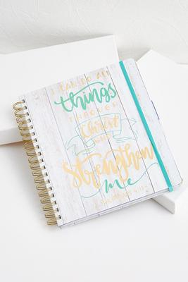 philippians monthly planner
