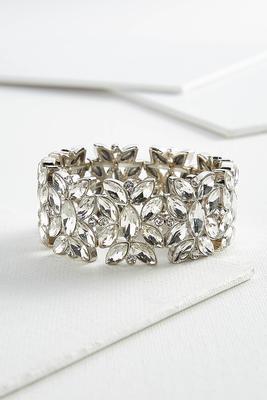vintage stone stretch bracelet