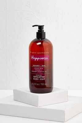 happiness exfoliating hand soap