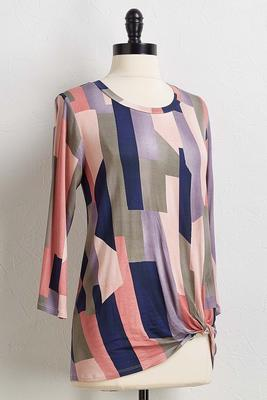 mosaic twist front top