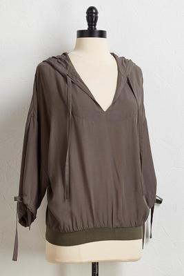 pullover hoodie top