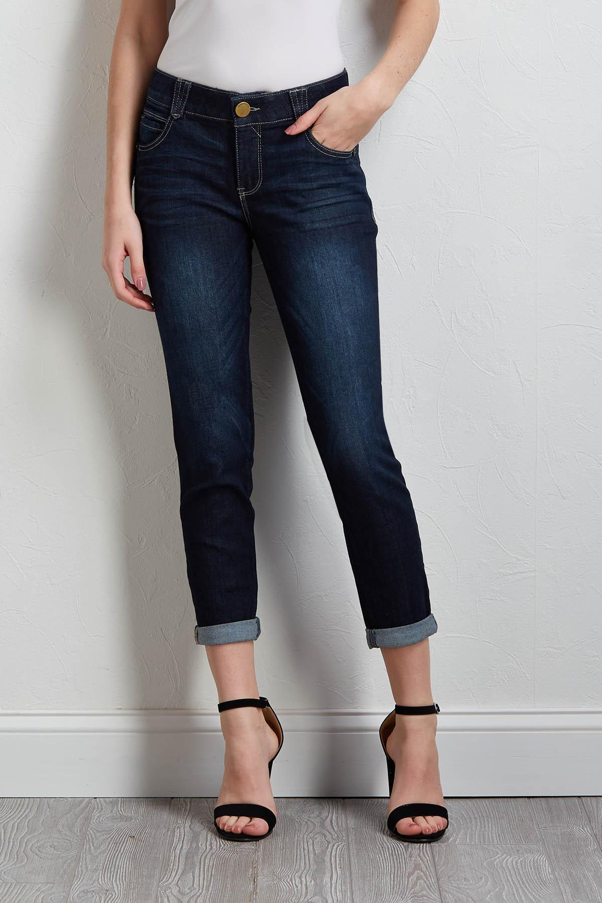 Shape Enhancing Skimmer Jeans