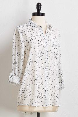 wish button down shirt