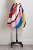 Wonderland Striped Midi Skirt