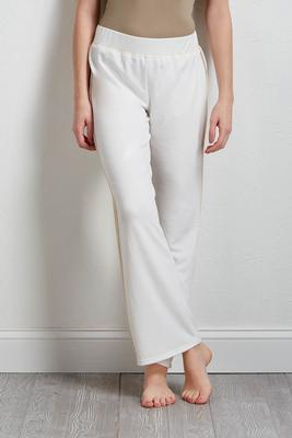 cozy wide leg pants