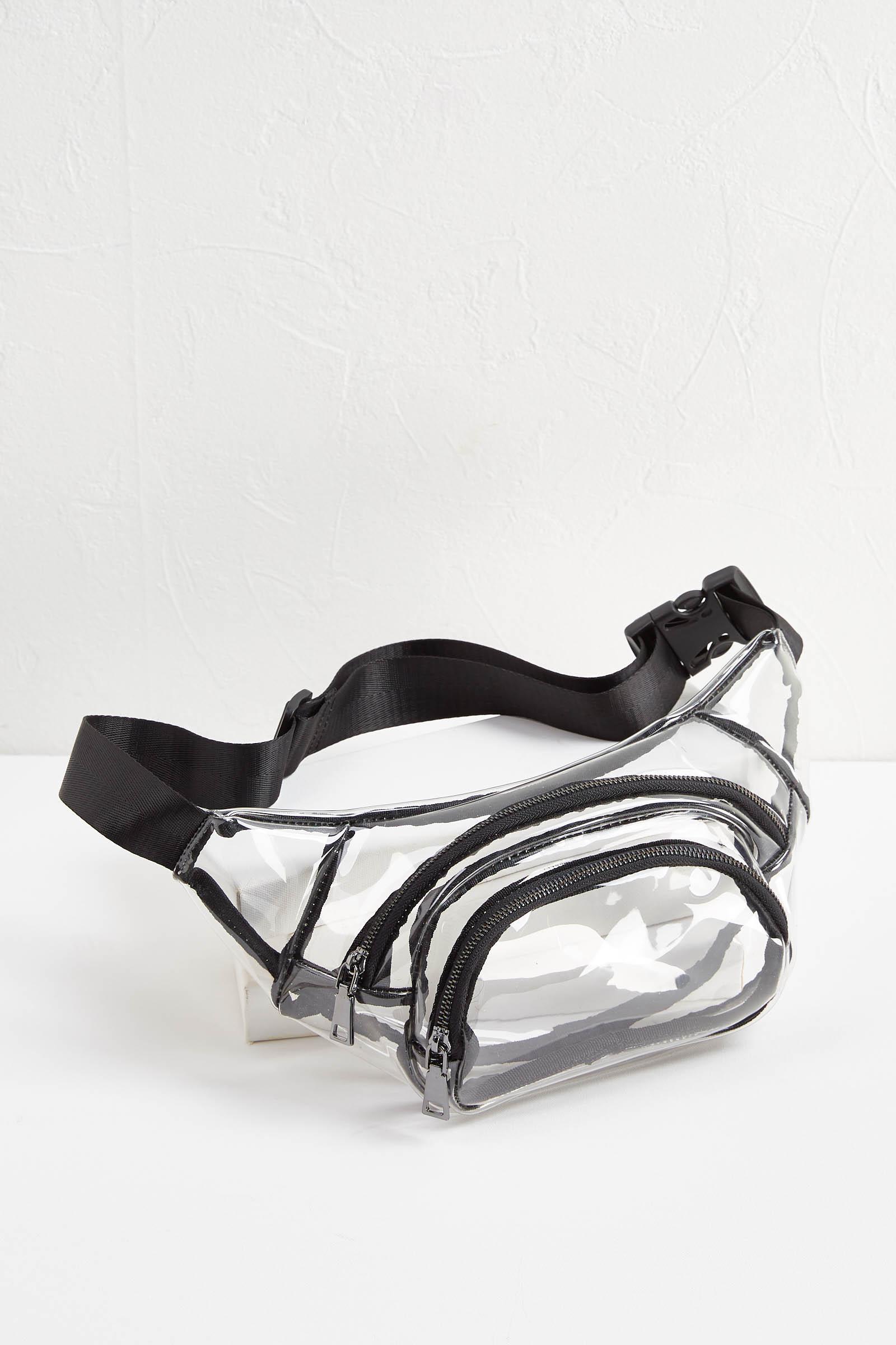 Clear Belt Bag