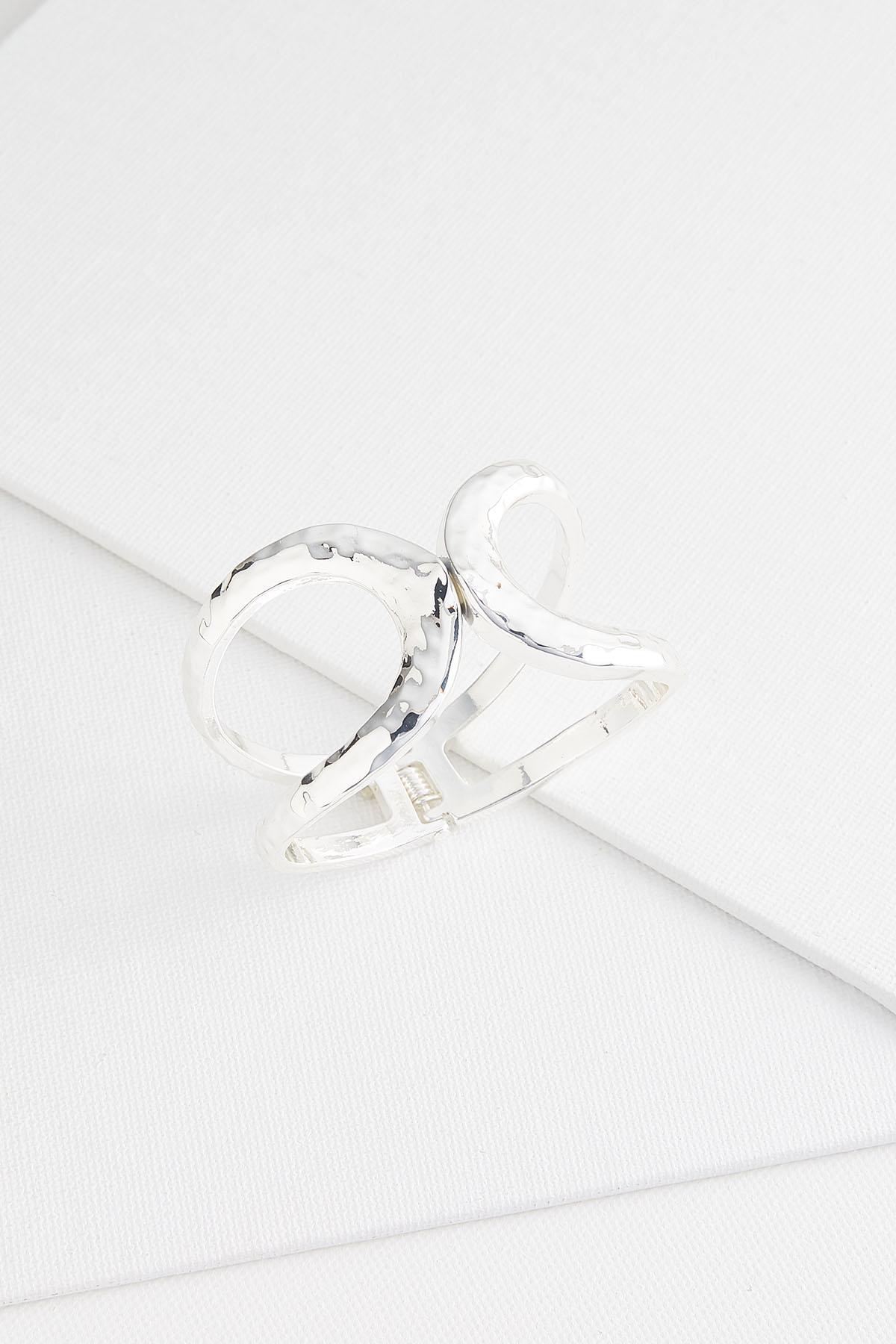 Hammered Metal Hinge Bracelet