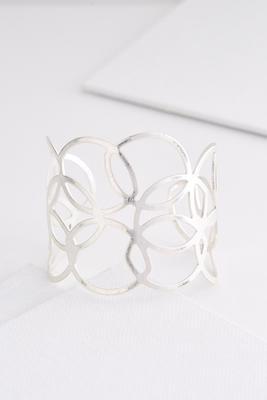 metal link cuff