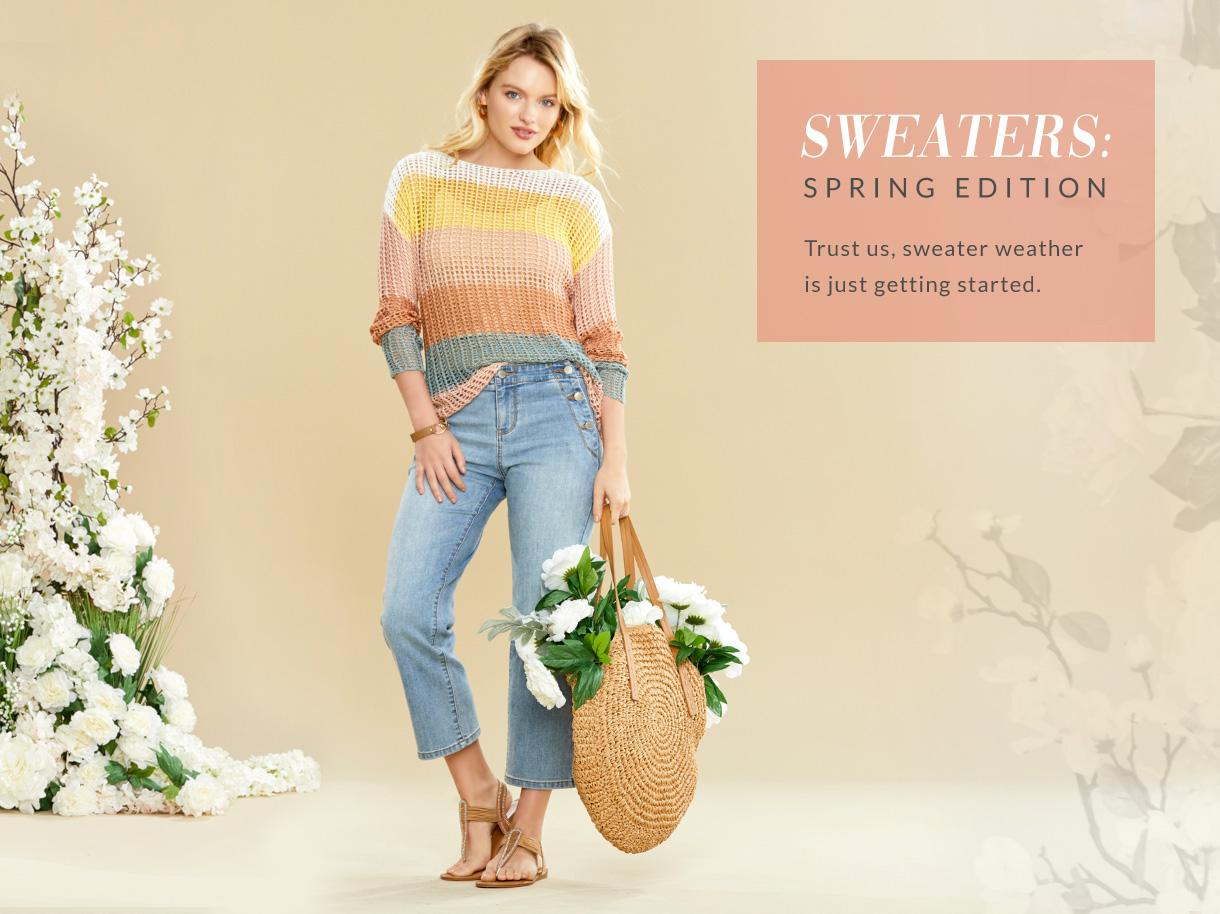 Sweaters Spring Edition collection