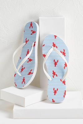 lobster flip-flops