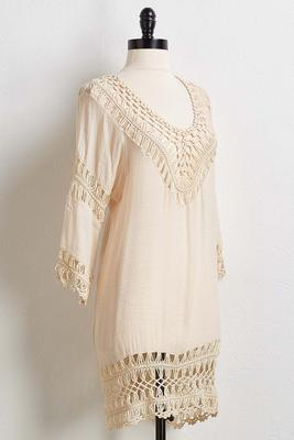 crochet cover-up