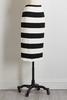 Stripe Ponte Pencil Skirt