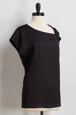 twist shoulder top