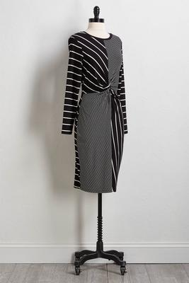 twisted sheath dress