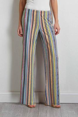 dashing stripe palazzo pants