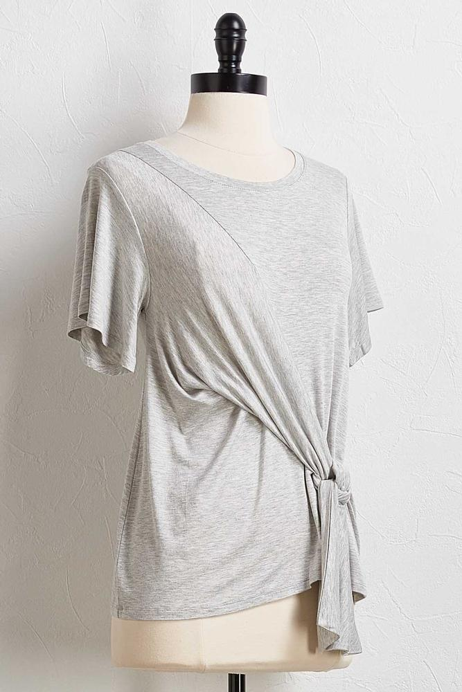Asymmetrical Knotted Tee