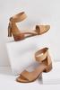 Tasseled Low Block Heels