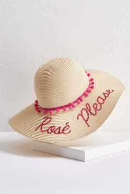 rose` please floppy hat
