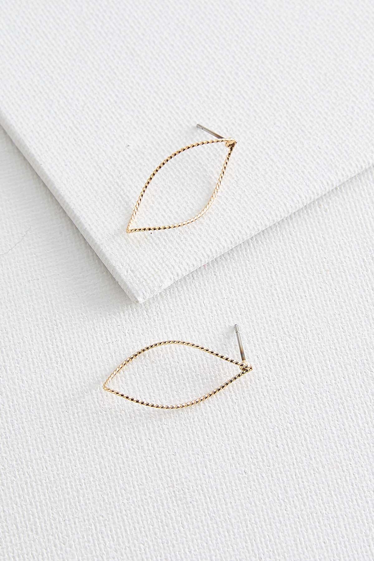 Textured Twist Earrings
