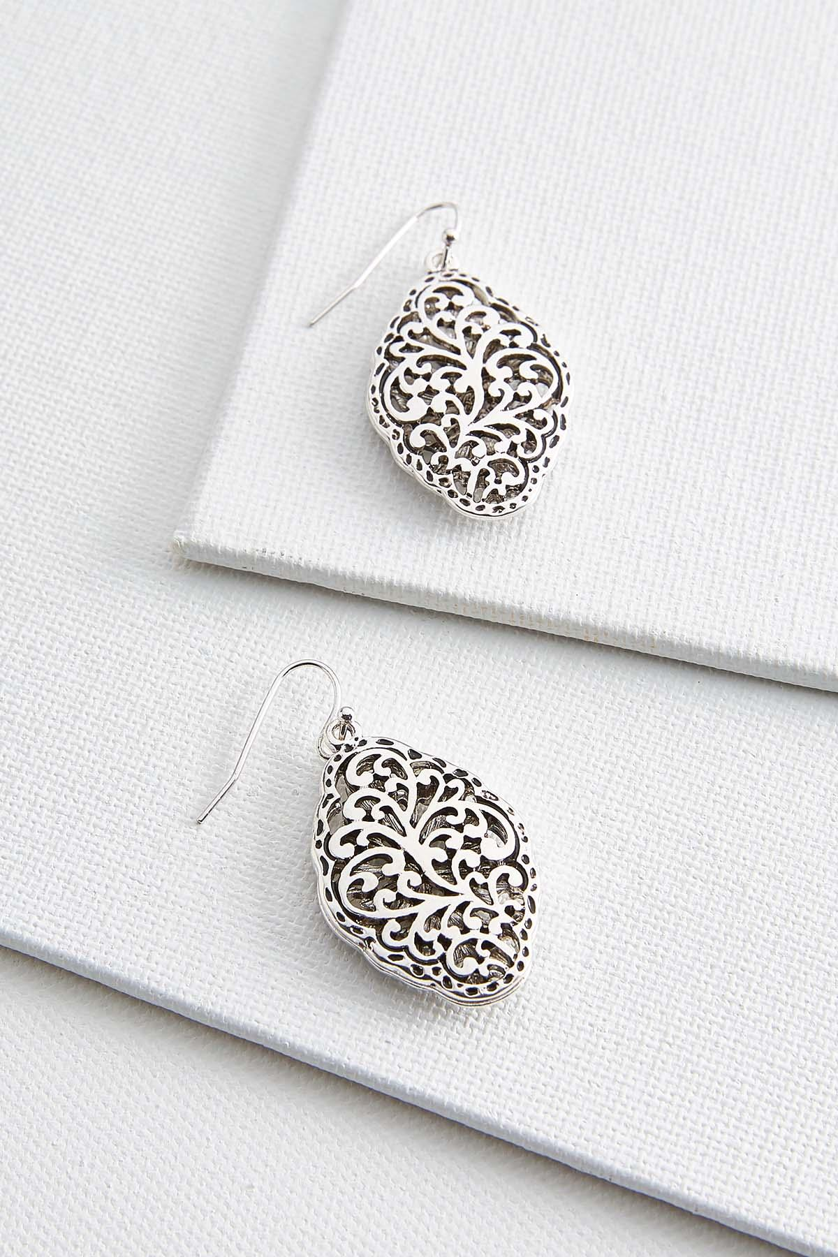 Antique Scroll Earrings