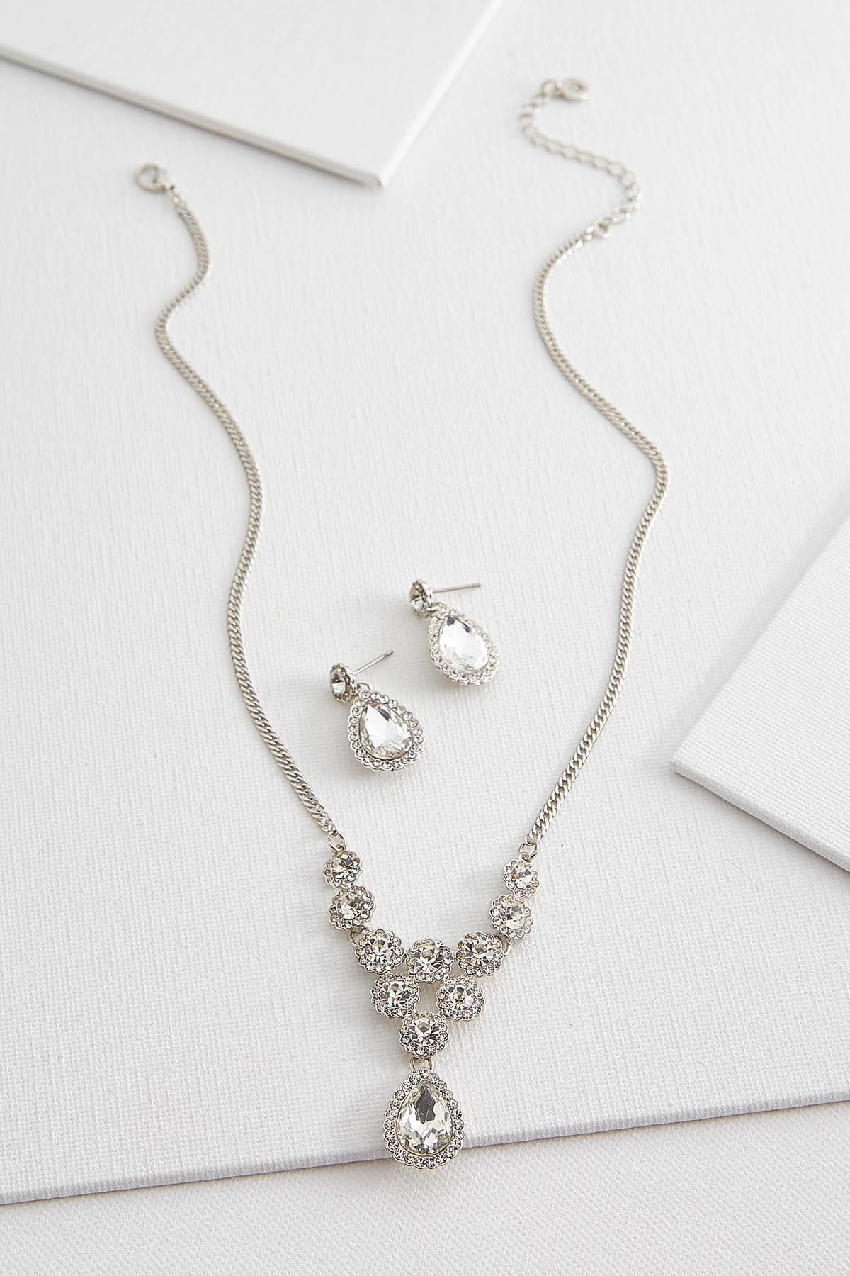 Tears And Stones Necklace Set