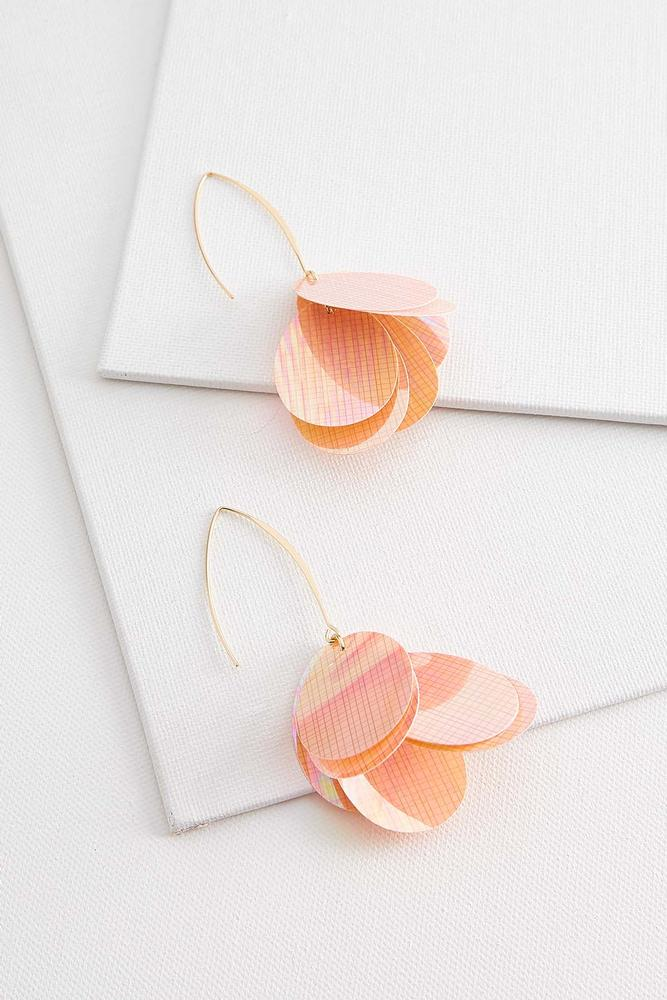 Sequin Petal Earrings