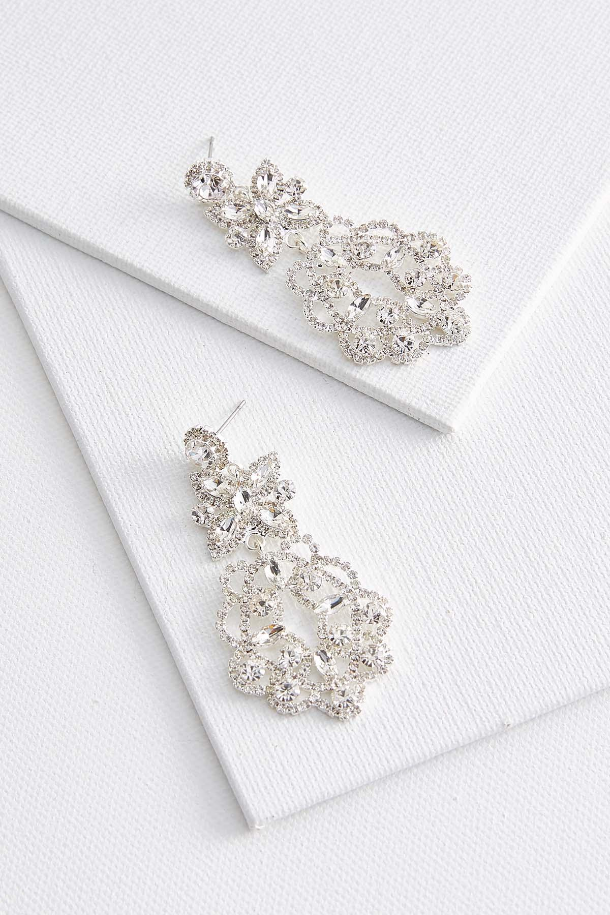 Floral Chandelier Earrings