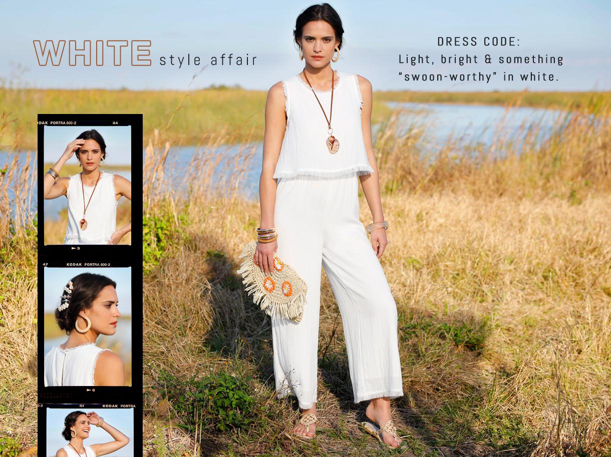 White Style Affair collection