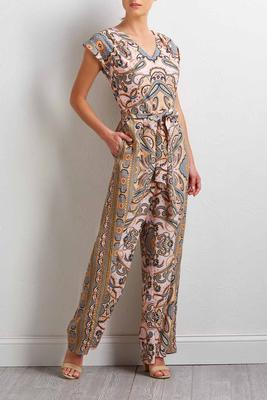 rose paisley jumpsuit