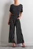 Contrast Stripe Jumpsuit