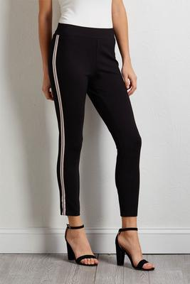 sporty stripe leggings