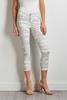 White Camo Skimmer Pants