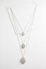 Layered Filigree Pendant Necklace