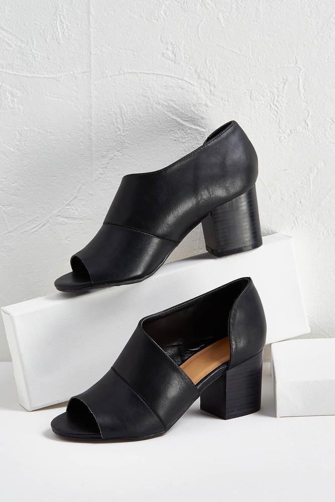 Open Side Heels