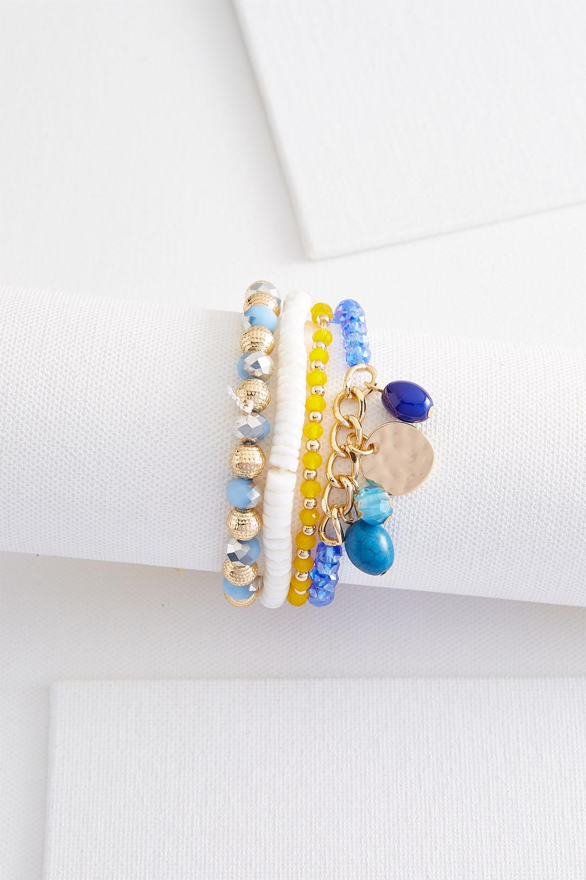 Mixed Bead Stretch Bracelet