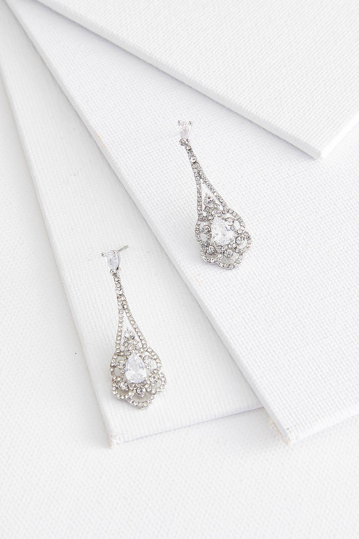 Lacy Stone Earrings