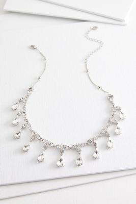 shaky stone necklace
