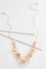 Mix Floral Bib Necklace