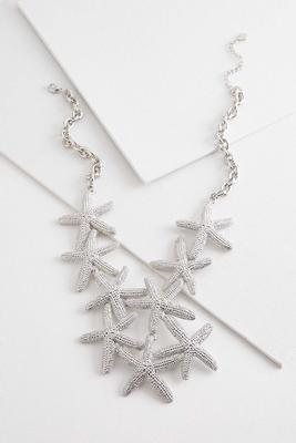 starfish bib necklace