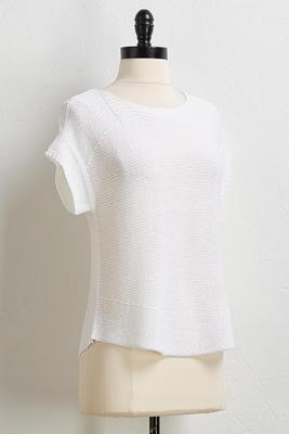 cap sleeve sweater