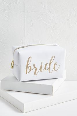 bride cosmetic pouch