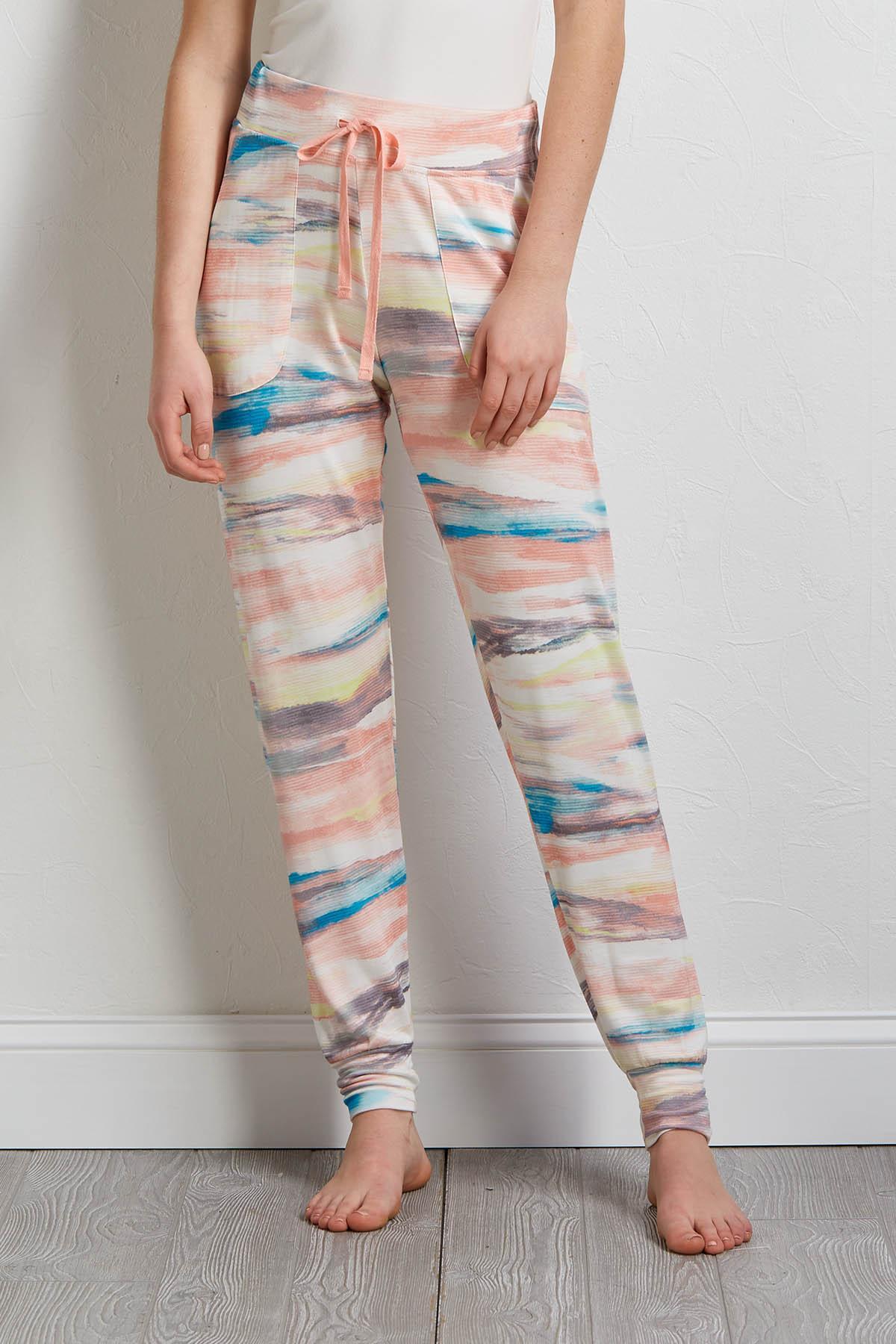 Rainbow Space Dye Joggers