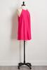 Pink Pebble Crepe Shift Dress