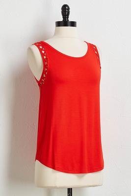 criss cross lattice trim tank