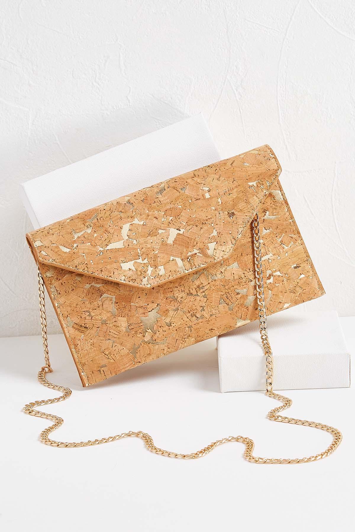 Cork Envelope Bag